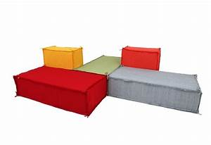 canape modulable moderne chaioscom With nettoyage tapis avec canapé design italien canapé modulable