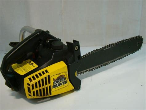 """McCulloch Eager Beaver 14"""" Gas Chain Saw 2.0 CID   WEAPONs"""