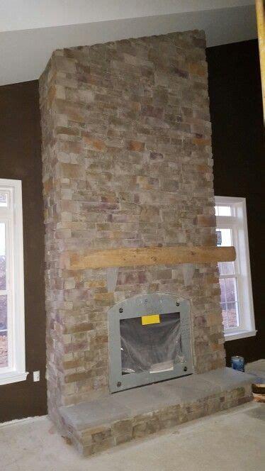 sherwin williams dark clove accent wall  fireplace