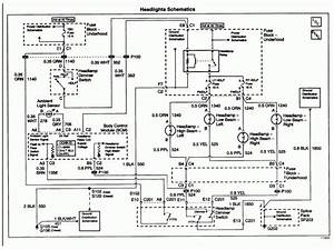 1989 Chevy Headlight Wiring Diagram