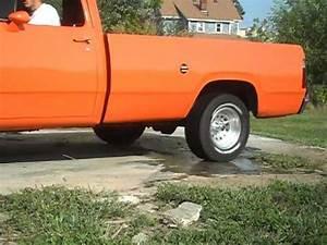 1978 Dodge D100 Burnout