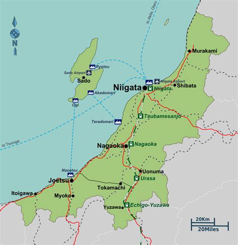 Niigata (prefecture)  Travel Guide At Wikivoyage