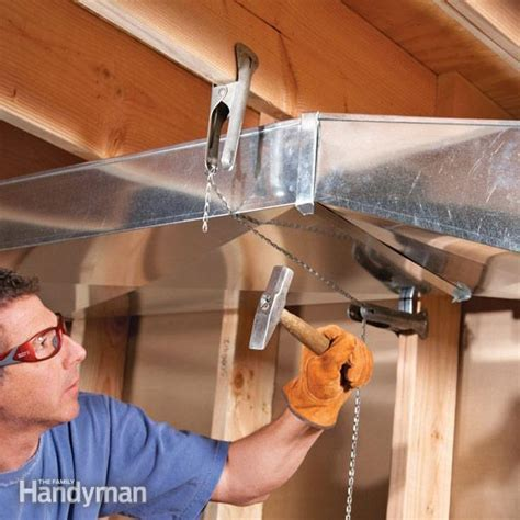 Home Repair: How to Flatten Basement Air Ducts to Gain