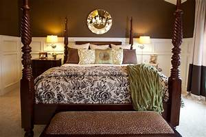 master bedroom brown and cream cincinnati by karen With brown and cream bedroom ideas
