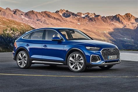 Its new, sporty design language captivates at first glance. Revealed cross-coupe Audi Q5 Sportback