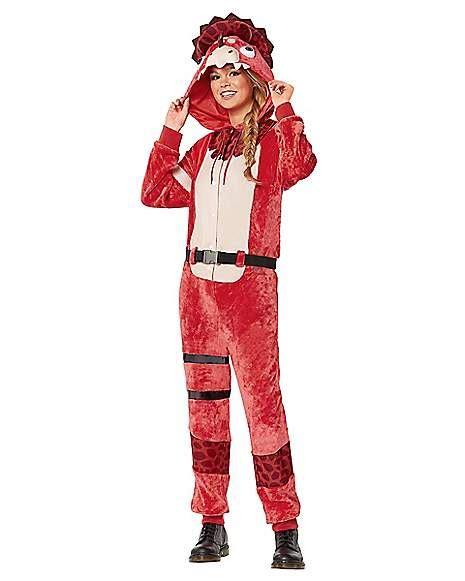 adult plush tricera ops costume fortnite