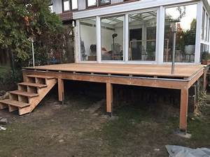 Terasse bauen best garten terrassen aus holz sichtschutz for Terrasse bauen holz