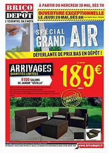 Arrivage Brico Depot 2017 : table et chaise de jardin brico depot l 39 univers du jardin ~ Dailycaller-alerts.com Idées de Décoration