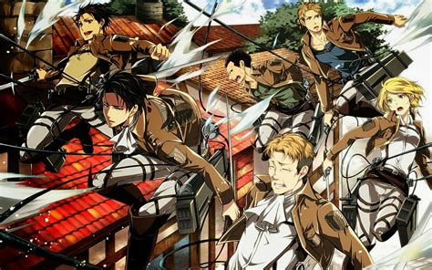otaku team  shingeki  kyojin wallpaper