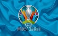 Download wallpapers UEFA Euro 2020, logo, 4k, silk texture ...