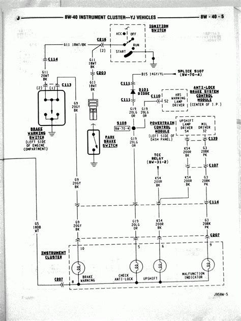 1994 Wrangler Wiring Diagram by Great 91 Jeep Wrangler Wiring Diagram Jeep