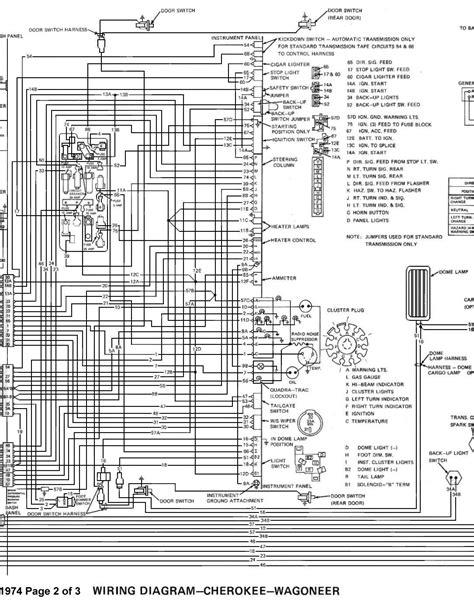 1969 Jeep Commando Wiring Diagram by Tom Oljeep Collins Fsj Wiring Page