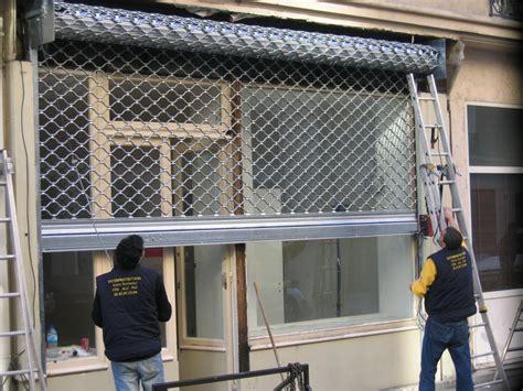 rideau de fer pour commerce installation r 233 paration motorisation de rideau m 233 tallique 224