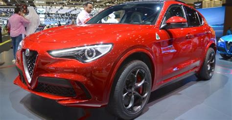 Alfa Romeo Stelvio Quadrifoglio Showcased At The 2017