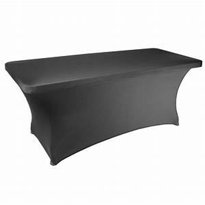 Nappe De Table Rectangulaire : nappage table rectangulaire 183cm table pliante nappes de table pliante ~ Teatrodelosmanantiales.com Idées de Décoration