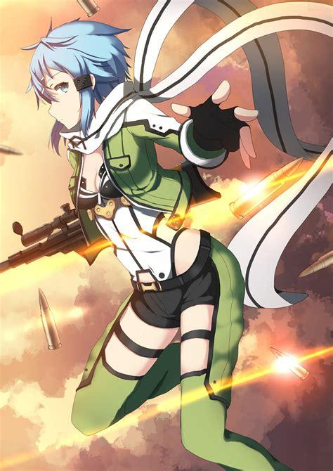 Wallpaper : Asada Shino Sinon Sword Art Online Sword Art