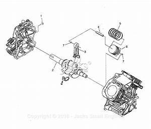 Generac 005058-1  Gtv760  Parts Diagram For Long Block
