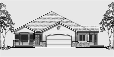 Home Design Level 106 : Front View House Plans
