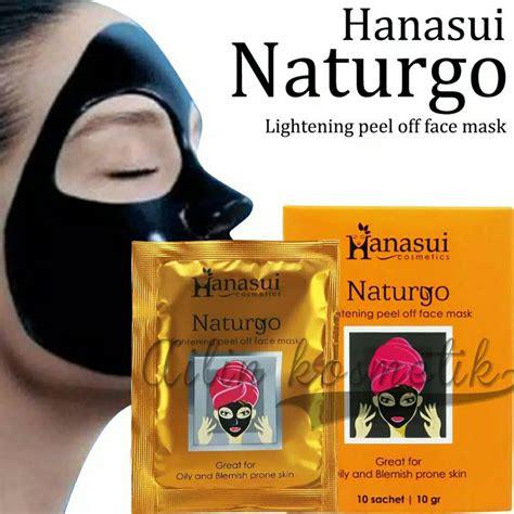 Masker Lumpur Naturgo Di Bandung jual hanasui naturgo mud mask masker lumpur di lapak indri