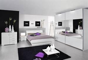 Schlafzimmer Komplett Weiß Hochglanz : tassilo komplettes schlafzimmer ii wei hochglanz ~ Indierocktalk.com Haus und Dekorationen