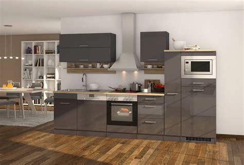 Küchenzeile Mit Elektrogeräten by K 252 Chenzeile Mit Elektroger 228 Ten Und Geschirrsp 252 Ler K 252 Che