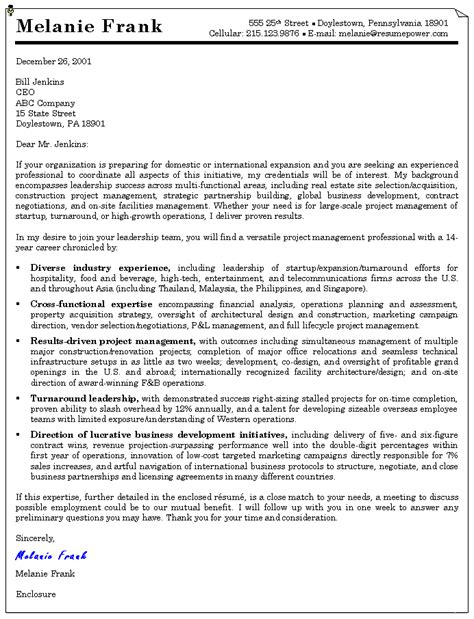 cover letter exle cover letter template mac