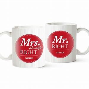 Mrs Berechnen : personalisiertes tassen set mr and mrs right mit wunschnamen ~ Themetempest.com Abrechnung