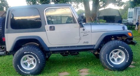 todays cool car find    jeep wrangler tj sport