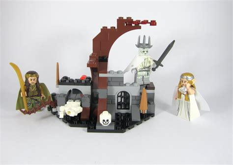 siege emperor lego 79015 hobbit witch king battle brand retired