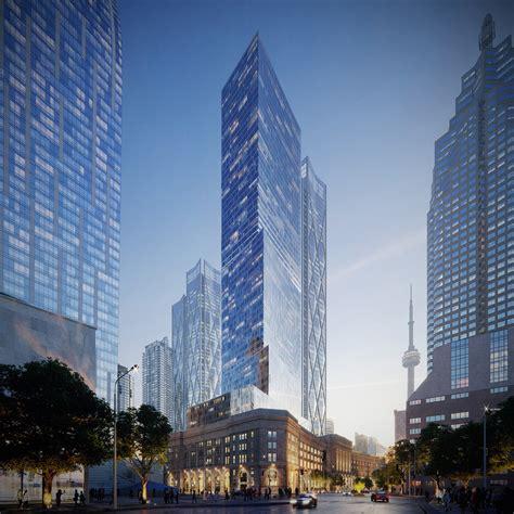 Architectural Rendering of Skyscraper Project in Toronto