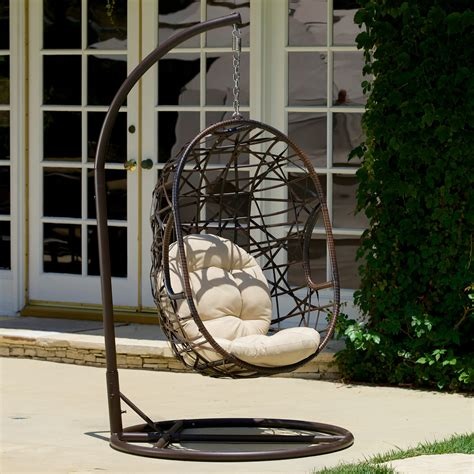 Buy egg chair and get the best deals at the lowest prices on ebay! Bay Isle Home Duncombe Egg-Shaped Outdoor Swing Chair with Stand & Reviews | Wayfair