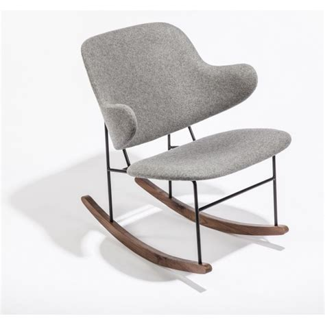dublin rocking chair modern furniture brickell collection