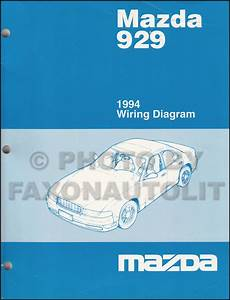 1994 Mazda 929 Wiring Diagram Manual Original