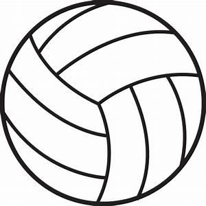 Volleyball clipart - ClipartAndScrap