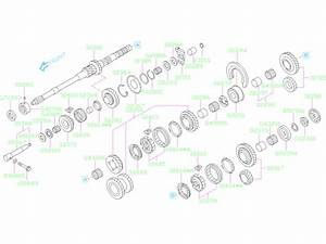 2020 Subaru Crosstrek Guide Oil Case  Shaft  Main