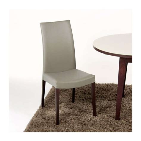 4 pieds 4 chaises givors chaise de salle à manger contemporaine en bois tortora 4