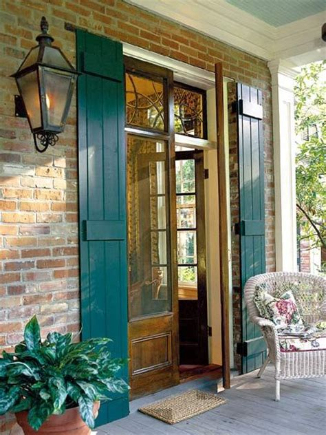 exterior door shutters expansion