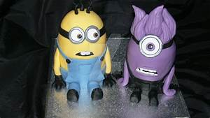 Despicable Me 2 Purple Minion Cake | www.imgkid.com - The ...