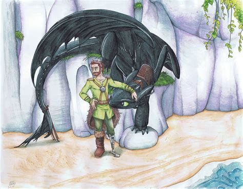 Hiccup And Toothless By Alliartist On Deviantart