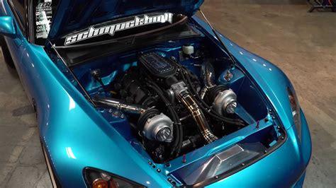 Twin Turbo V6 S2000! - iDrive Fast