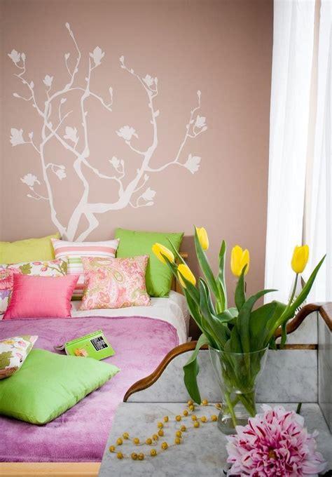choisir couleur peinture chambre chambre marron et