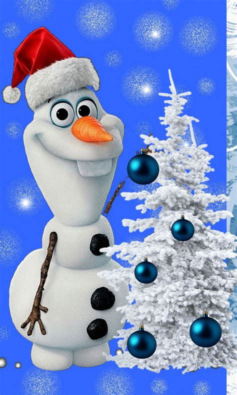 christmas olaf wallpapers backgrounds wallpapersafari