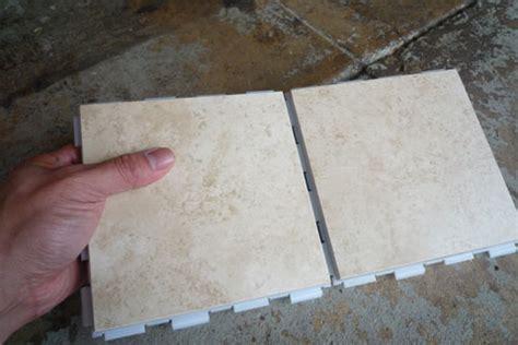 snap and lock tile snapstone interlocking tile system tiling made easier