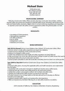 Ehs manager resume