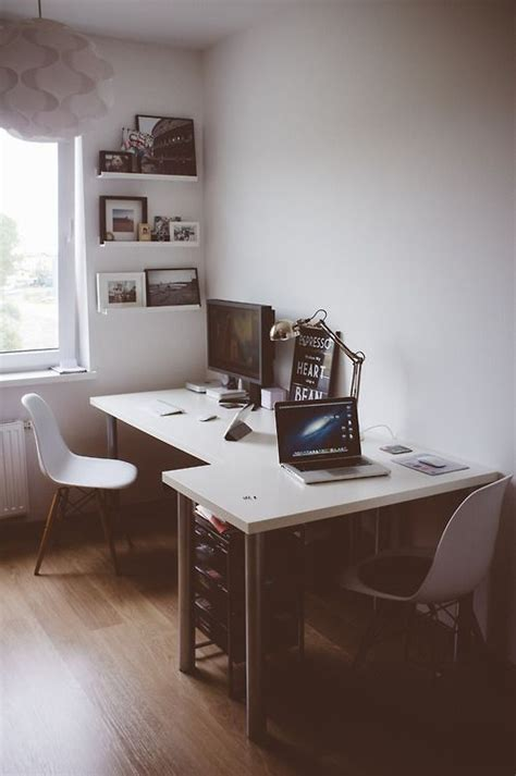 2 person corner desk l shaped 2 person ikea desk setup office workspace