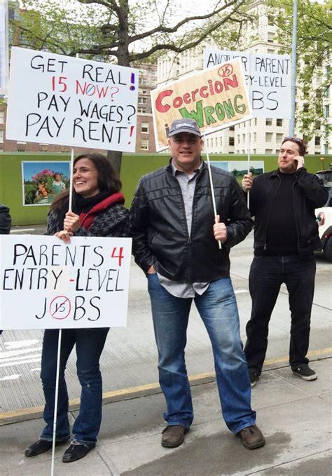 seattles  minimum wage campaign losing ground