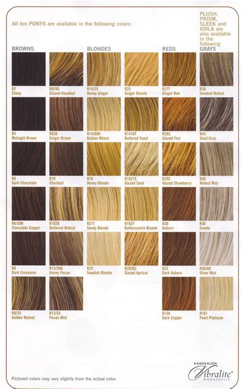 Shades Of Color For Hair by 31 Fancy Hair Color Chart Kcbler Greys