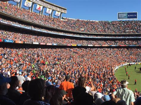 A Sea Of Orange At San Diego Chargers Game