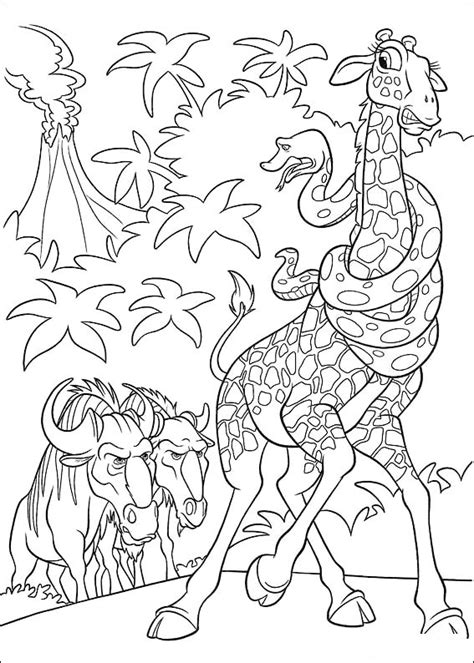 The wild Coloring Pages - Coloringpages1001.com
