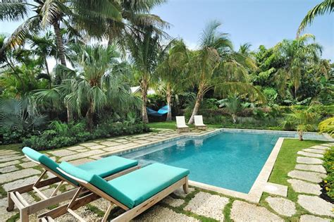 tropical pool landscaping swimming pool design ideas landscaping network